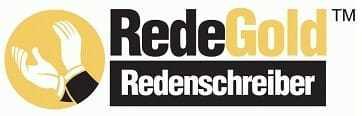 Redenschreiber kostenlos testen: RedeGold Redenschreiber Retina Logo