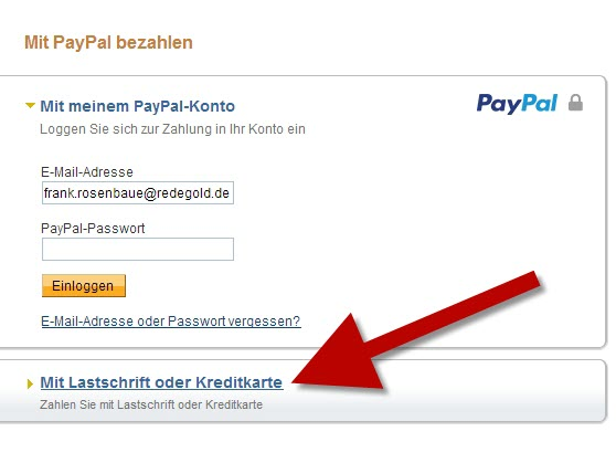 Paypal Ohne Account